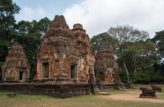 Preah Ko Temple (Waldemar*) Tags: asia southeastasia cambodia indochina siemreap temples angkor hindu religion history historic historical ruins unesco worldheritagesite khmer preahko hinduism sacredbull