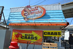 Big Crabs (afagen) Tags: washington dc washingtondc districtofcolumbia southwestwaterfront thewharf municipalfishmarket fishmarket market saltwaterseafood sign