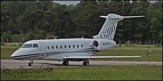 N216VV Gulfstream G280 c/n 2102 Vulcan Aggregates Co LLC (EGLF) 18/05/2018