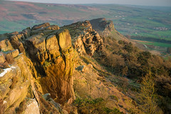 Three peaks (david.travis) Tags: rock goldenhour england sunset landscapephotography scenic outdoor unitedkingdom staffordshire roaches dusk