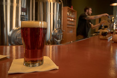 Sauk Rapids Red 20180421-DSC09063 (Prairieworks Pictures) Tags: bokeh minnesota saukrapids smalltown beer ale pub brewhouse brewery craftbeer red sony a6300 zeiss variotessare41670