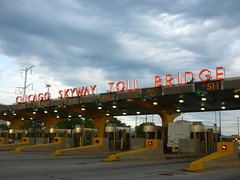 Chicago Skyway Toll Plaza (4) (Ryan busman_49) Tags: toll bridge road highway chicagoskyway chicago il illinois