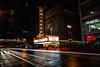 Chicago at Night (Wits End Photography) Tags: night lighttrails dark landmark sky darkness city theatre places attraction tourist rain