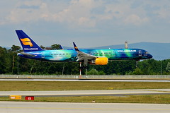 "TF-FIU Icelandair Boeing 757-200"" Hekla Aurora"" (czerwonyr) Tags: tffiu icelandair boeing 757200heklaaurora eddf fra"