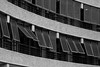Upper Frobisher Crescent (cybertect) Tags: carlzeisssonnart135mmf28 chamberlinpowellandbon cityoflondon ec2 london londonec2 modernism sonya7 thebarbican upperfrobishercrescent architecture blackwhite blackandwhite building concrete monochrome sunshade