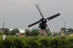 DUTCH LIFE (GJS PHOTOGRAPHY) Tags: windmill holland green people life travel europe euro netherlands cycle bike