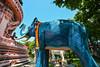 Elephant temple in Bangkok, Thailand (phuong.sg@gmail.com) Tags: animal architecture art bangkok ceremony colorful construction creature cremation crematorium culture decoration destination elegant elephant event exhibition funeral gold golden history king landmark landscape literature majesty ornament public pyre religion religious royal scenic sculpture sightseeing statue thai thailand tourism tourist tradition