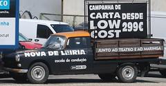Oldtimer  Peugeot 404 (Jan Herremans) Tags: portugal costadoprata caldasdarainha silvercoast truck