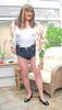 Janehotpntscons-003 (fionaxxcd) Tags: crossdresser crossdressing cd mtf m2t transvestite trannie tg tgurl hotpantslegs rednails redlipstick crotch bust breasts longhair patentshoes