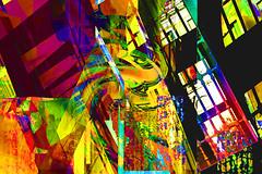 Ventanales (seguicollar) Tags: imagencreativa photomanipulación art arte artecreativo artedigital virginiaseguí colorido ventanas combinado