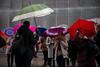Milano Street Walking - Wet Tourists (In.Deo) Tags: milano lombardia italy street rain umbrella
