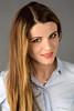Warm smile (piotr_szymanek) Tags: paulina paulinach woman young skinny portrait face eyesoncamera longhair blue blouse smile 1k 20f 5k 50f