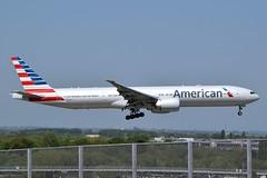 2018-05-05 LHR N731AN (Paul-H100) Tags: 20180505 lhr n731an boeing 777 b777 american airlines