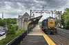 Eastbound CSX engine LHF @ Madison (bozartproductions) Tags: csx njt new jersey transit locomotive madison station eastbound
