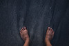 Standing on the black sands... (Syahrel Azha Hashim) Tags: lombok topview water sony shallow holiday simple 2017 details pointofview a7ii feet blacksands ilce7m2 dof barefoot lombokisland humanfeet wave island blacksand getaway handheld texture colorimage vacation destination prime light sandybeach naturallight sonya7 colorful beach beautiful travel syahrel oneperson ocean humanbody 35mm grains indonesia colors detail