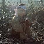 Vietnam War 1967 - Young Viet Cong Prisoner Smoking thumbnail