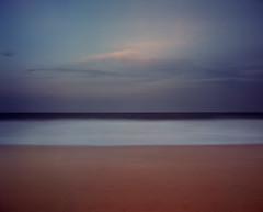 Halflight (GrisFroid) Tags: ocean sea water beach coast surf waves sky long exposure film 120 ektar 6x7 mamiya rz67