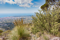 Andalusia (Keith in Exeter) Tags: andalusia spain sierra mountain mijas fuengirola mediterranean sea sky water grass bush tree landscape