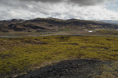 Somwhere on the road (LakimFoto) Tags: mountains iceland view