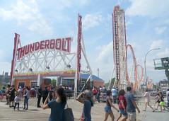 Thunderbolt (edenpictures) Tags: coneyisland brooklyn newyorkcity nyc lunapark rollercoaster boardwalk thunderbolt