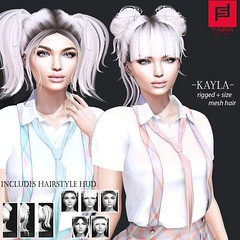 Kayla (FABIA.HAIR) Tags: blush hair rigged moda woman beauty look piktures fabia nice meef haed special second sl secondlife sweet event fashion haistyle life lovely avatar spam style shopping new release best love everyday art