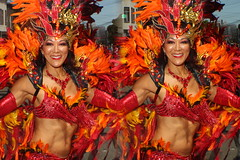 IMG_8378 (tam3d) Tags: tam3d carnavalsf carnavalsf2018 carnaval sfcarnaval sf missiondistrict parade festival costume dancer samba model models portrait fashion sanfrancisco 3d stereoscope stereophotography stereoimage crosseyed crossview loreo people party