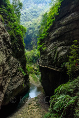 Chongqing-180129-125 (Kelly Cheng) Tags: asia china chongqing longshuicanyon longshuixiafissuregorge northeastasia southchinakarstwulongkarstunescoworldheritagesite unescoworldheritagesite wulong wulongkarstnationalgeologypark canyon color colorful colour colourful day daylight gorge karst landscape nature nopeople nobody outdoor river tourism travel traveldestinations water 武隆喀斯特 龙水峡地缝