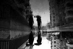 II (maekke) Tags: zürich puddlegram reflection rain streetphotography bw noiretblanc fujifilm x100t 35mm pointofview pov 2018 ch switzerland
