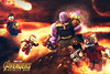 LEGO Avengers: Infinity War - Battle on Titan (MGF Customs/Reviews) Tags: lego avengers infinity war gauntlet thanos iron man spiderman spider starlord custom figure minifigure