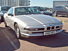 164 BMW 850i (1992) (robertknight16) Tags: bmw 1990s german germany 850i silverstone vscc j450wcf