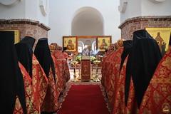 09. Пасхальная вечерня в соборе г. Святогорска 08.04.2018 г