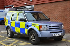 BX58 MVJ (S11 AUN) Tags: west midlands police wmp cmpg centralmotorwaypolicegroup land rover discovery disco3 tdv6 fleet service parklane fspl spare loan courtesy anpr traffic car 4x4 rpu roads policing unit 999 emergency vehicle bx58mvj