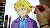 How-to-Draw-alfredo-from-Romeo's-Blue-Skies (massiouiart) Tags: تعلم ترسم انمي كرتون رسم متعة الرسم