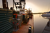Solar Activity (Alfred Grupstra) Tags: harbor nauticalvessel commercialdock industry sea machinery pier transportation equipment water constructionindustry outdoors freighttransportation jetty craneconstructionmachinery business sky moored nopeople shipping sun