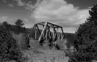 The D&RGW Trestle Over the Arkansas River