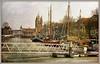 Museum haven en Zuidhavenpoort, Zierikzee, Schouwen-Duiveland, Zeelande, Nederland (claude lina) Tags: claudelina nederland hollande paysbas zeeland zierikzee zeelande port haven museum bridge pont boat