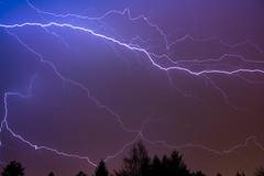 Thunderstorm over Poznań (Rafał Banach) Tags: lightning sky sonyilce7rm3 sonyfe24105mmf4goss atmosphericdischarge thunderstormoverpoznań night storm poland polska poznań clouds