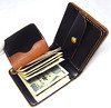 """""""ChiyaShin(茶芯)""""Leather Money Clip Wallet (Thick type) a1_07 (KA.PICHE) Tags: leather wallet craft leathercraft leatherwallet moneyclip 茶芯 マネークリップ 札ばさみ レザークラフト 二つ折り財布"""