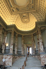 The Marble Hall, Holkham (jpotto) Tags: uk norfolk historichouses holkhamhall house architecture marblehall
