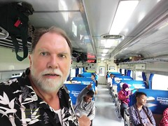Indonesia-Java East Train Selfie 20171216_105853 LG (CanadaGood) Tags: asia asean seasia indonesia indonesian java javanese eastjava jawatimur railway train people person selfie gregory canadagood 2017 thisdecade color colour cameraphone keretaapi
