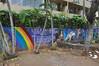 HI18_HNL_015 (Tai Pan of HK) Tags: hawaiʻi mokuʻāinaohawaiʻi stateofhawaiʻi hawaiki ʻavaiki savaiʻi kingdomofhawaiʻi hawaiʻiloa o'ahu thegatheringplace rainbowstate honolulu crossroadsofthepacific shelteredbay hnl thebigpineapple town paradise mural streetart slogan symbol emblem logo relief azulejo tiles eslogan emblema grafiti pared muro wall graffiti