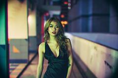 Evening Session (Jon Siegel) Tags: nikon d810 sigma 50mm 14 sigma50mmf14art 50mm14 artlens woman girl beautiful sexy dress chinese singapore singaporean rooftop evening beauty night people urban