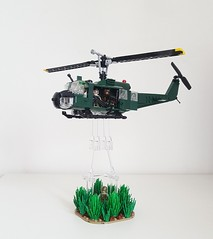 Huey (Project Azazel) Tags: huey helicopter legohuey legohueyhelicopter hueyhelicopter nam vietnam aircavalry legonam brickarms citizenbrick legohelicopter military legomilitary legomilitarymodels custom legocustom moc vignette legovignette myowncreation uh1 bell belluh1 iroquois legoiroquois legouh1 uh1iroquois legocreation legoaircraft unitedbricks