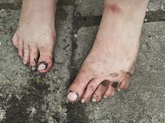 barefoot in nature 144 (dirtyfeet6811) Tags: feet toes barefoot dirtyfeet dirtytoes feetinnature