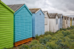 167/365 - Technicolour Shelter (roblee.photography) Tags: beachhuts clouds colourful englishsummer lancing paint seaside sussex project365 project365167 project36516jun18 2018 june canoneos6d ef24105mmf4lisusm pictureaday photoaday oneaday