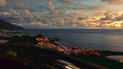Puerto Naos Sunset (free3yourmind) Tags: puerto naos sunset dramatic sky clouds cloudy sea atlantic coast travel canary islands canarias lapalma