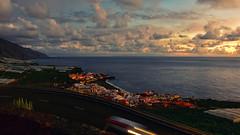 Puerto Naos Sunset (free3yourmind) Tags: puerto naos sunset dramatic sky clouds cloudy sea atlantic coast travel canary islands canarias lapalma