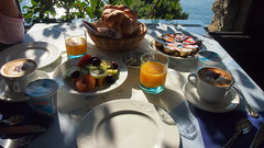 Healthy Breakfast at Hotel St Michelle (richard evea) Tags: amalfi italy holiday olympusepl3