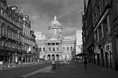 City Hall (TERRY KEARNEY) Tags: liverpoolcityhall liverpool merseyside buildings buildingstructure buildingsarchitecture architecture people skyline sky dome tower clock street road liverpooltownhall city cityscape liverpoolcitycentre canoneos1dmarkiv daylight day explore europe england kearney landscape oneterry outdoor streets blackandwhite monochrome terrykearney 2018 window door building
