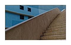 Cité de la Musique (Jean-Louis DUMAS) Tags: architecture architect architecte escaliers bleu art artist artistic artistique artiste